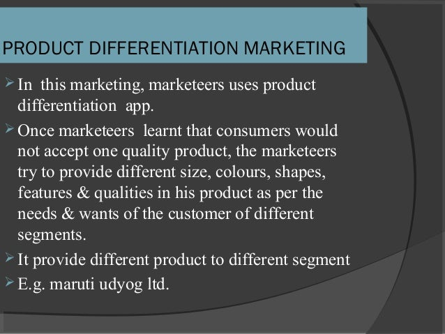 segmentation targeting and positioning of maruti udyog 2 semester : marketing management market segmentations, levels of market segmentations, patterns, procedures, requirement for effective segmentation, evaluating the market segments, selecting the market segments, tool for competitive differentiation, developing a positioning.