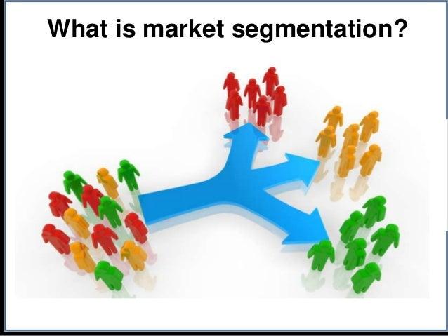 Market segmentation analysis example powerpoint presentation.