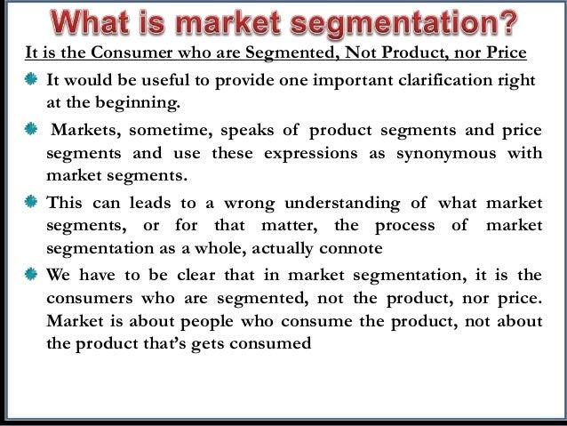 Market Segmentation PPT