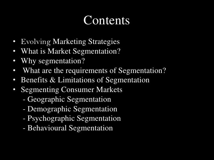 geographic segmentation essay There are four important standards have to be considered: geographic,  demographic, psychographic and behavioral segmentation in the wine.
