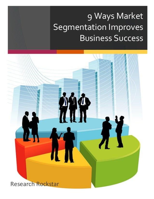 thesis market segmentation