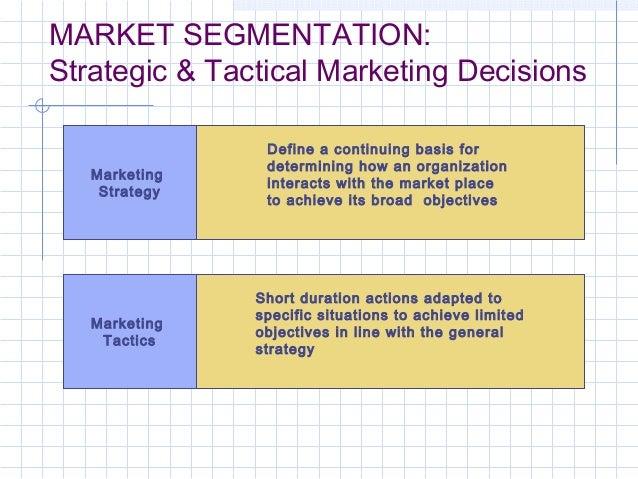 MF Strategic Marketing Market segmentation, target market and positio…