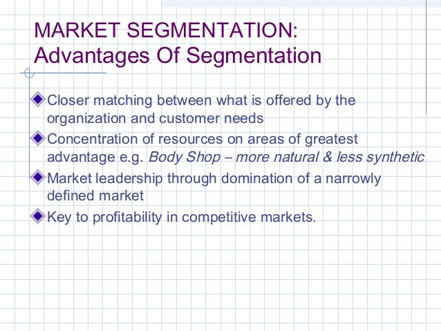 advantages of market segmentation Know about the top benefits of market segmentation for your business also get  more insights how you can leverage market segmentation for business success.