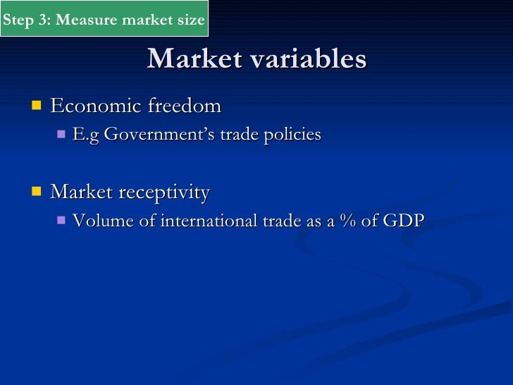 what is market receptivity