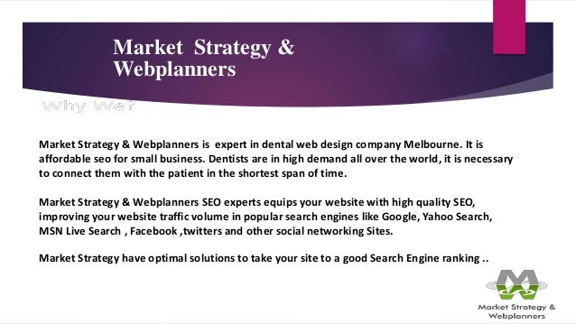 Market Strategy   Webplanners  24. Market Strategy   Webplanners is expert  in dental web design company ... 306b15a1491