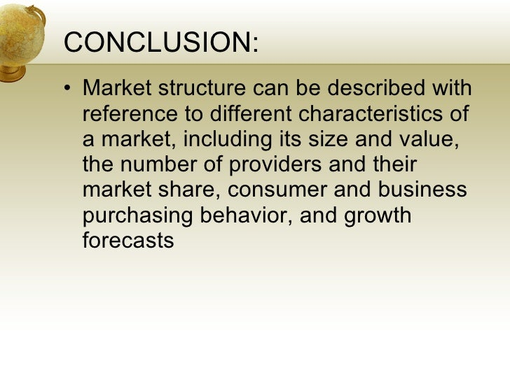 Oligopoly structure of markets beneficial to the consumer