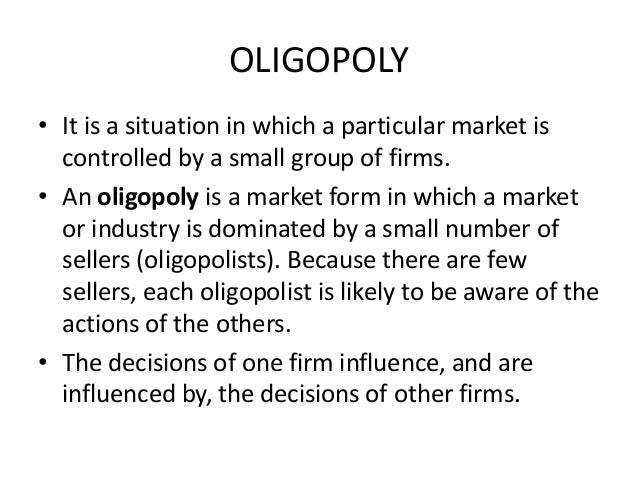 oligopoly in the uk supermarket industry I would also like to analyse other consequences of tesco's oligopoly position that  seem to affect other aspects of the uk economy  during its long term  dominance of the supermarket sector, sainsbury's retained an image as a high- priced.