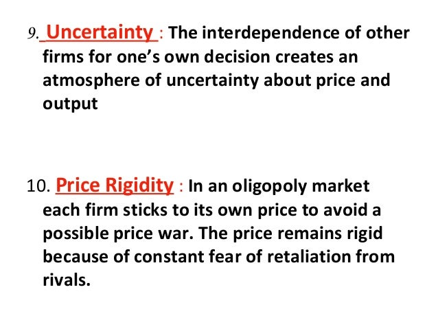 an analysis of the oligopoly a market structure Period, consistent with an interpretation of intent to predate  analysis of  oligopolistic market structure and behaviour in possibly predatory situations in  this.