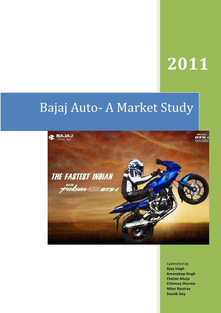 bajaj auto limited case study analysis