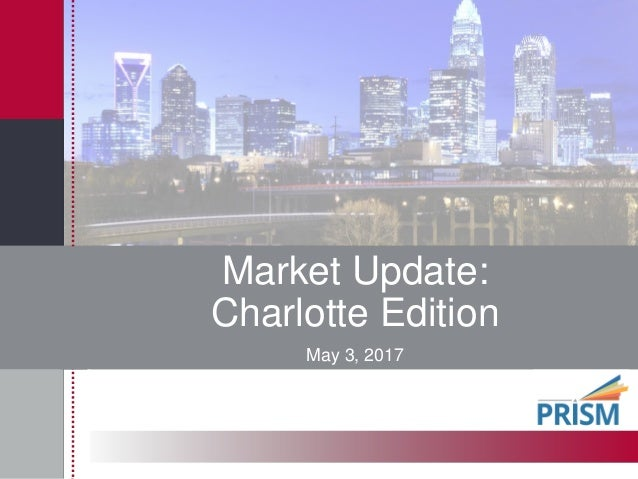 Market Update: Charlotte Edition May 3, 2017