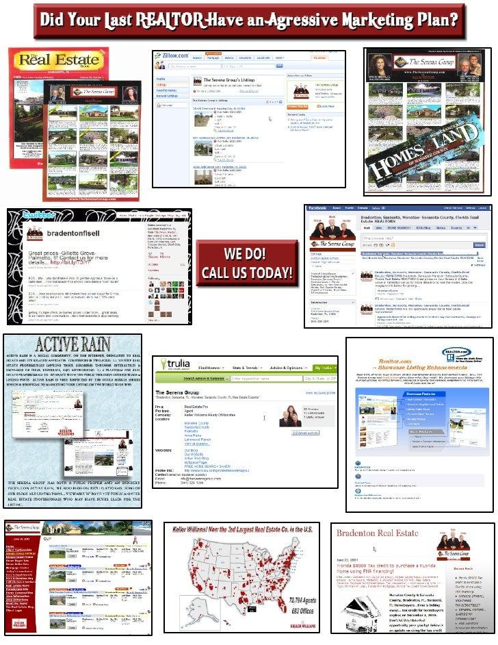 Bradenton Real Estate, Bradenton Real Estate Agents, Real Estate Marketing Plan