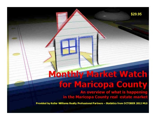 $29.95          Monthly Market Watch            for Maricopa County                               An overview of what is h...