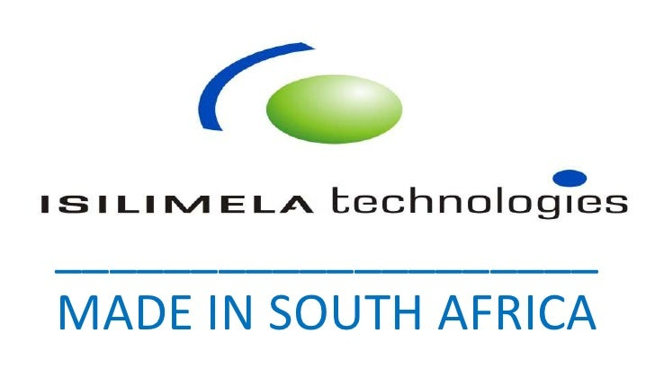 ____________________MADE IN SOUTH AFRICA<br />