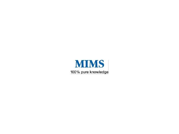 MIMS Australias mostcomprehensive Australianprescription medicinesinformation as well as themost commonly used andprescrib...