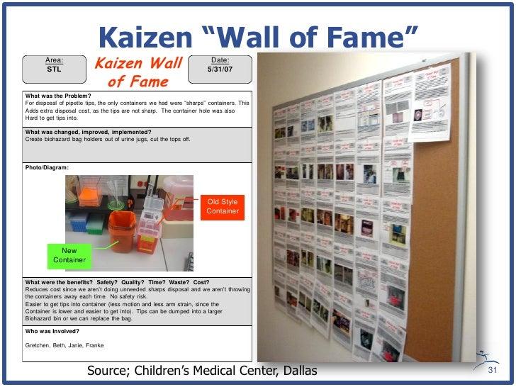 Kaizen Wall Of Fame Area Stl