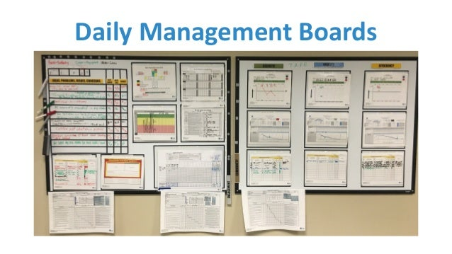 daily management For a health care organization that has adopted lean methodologies, a lean  management system provides the means to sustain the lean transformation.