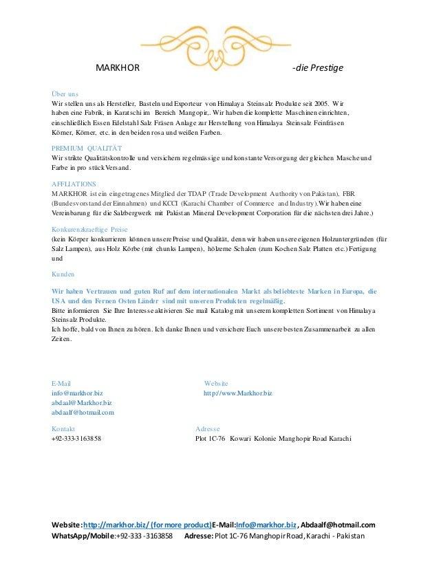 MARKHOR -die Prestige Website:http://markhor.biz/ (formore product)E-Mail:Info@markhor.biz,Abdaalf@hotmail.com WhatsApp/Mo...