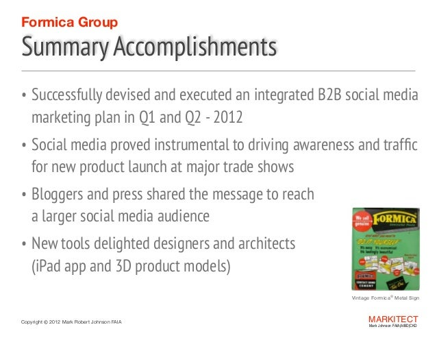 High Quality SlideShare Regarding Summary Of Accomplishments