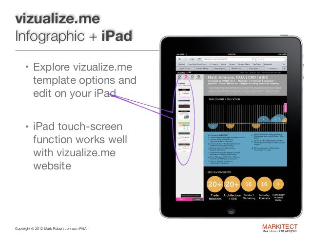 vizualize me infographic resume
