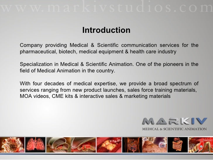 Company providing Medical & Scientific communication services for the pharmaceutical, biotech, medical equipment & health ...