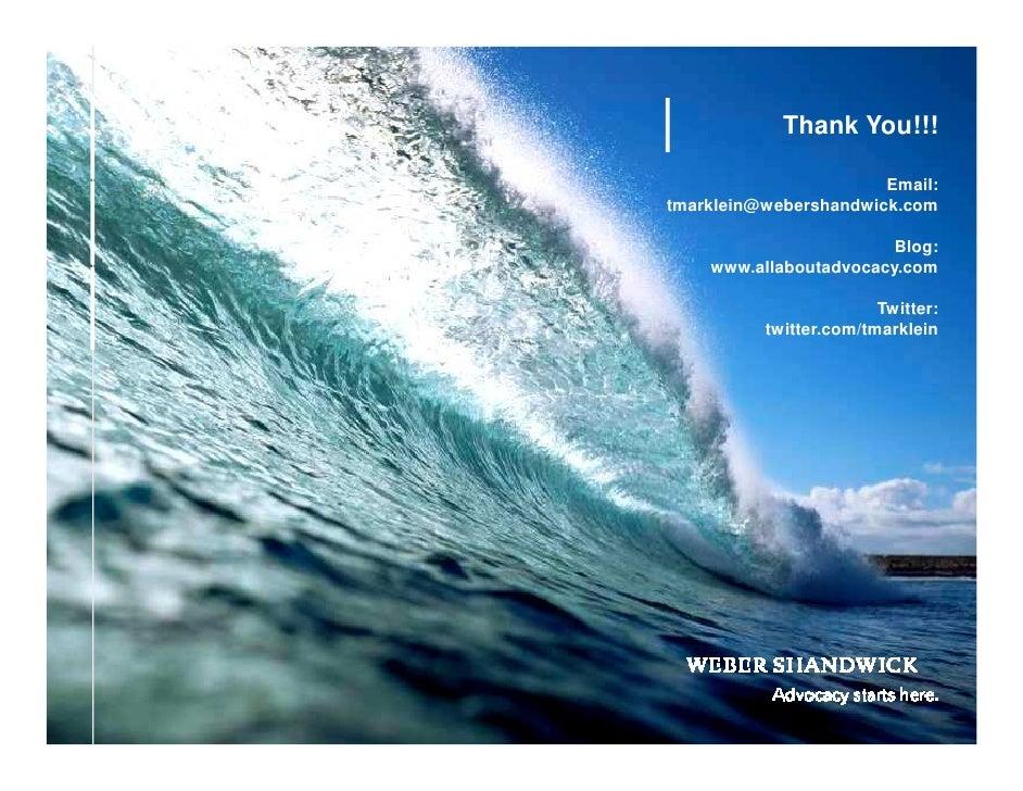 Thank You!!!                                  Email:          tmarklein@webershandwick.com                                ...