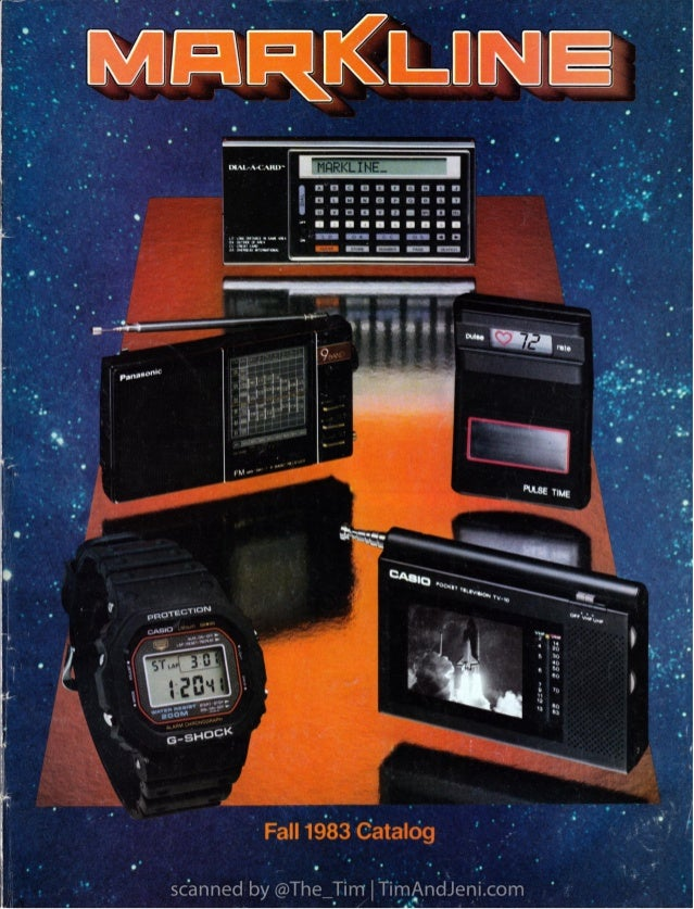 Markline Catalog - Fall 1983