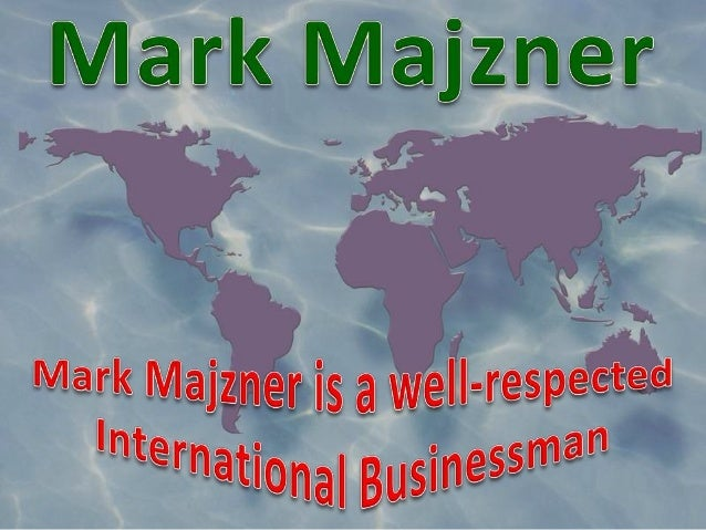 Mark Majzner is a well-respected international businessman with over twenty years of experience in various industries. Mar...