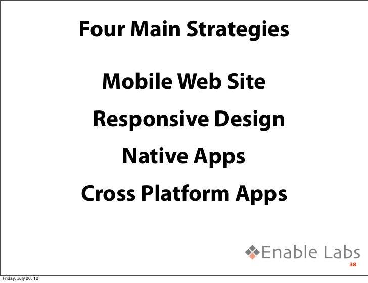 Mobile Platforms and App Development