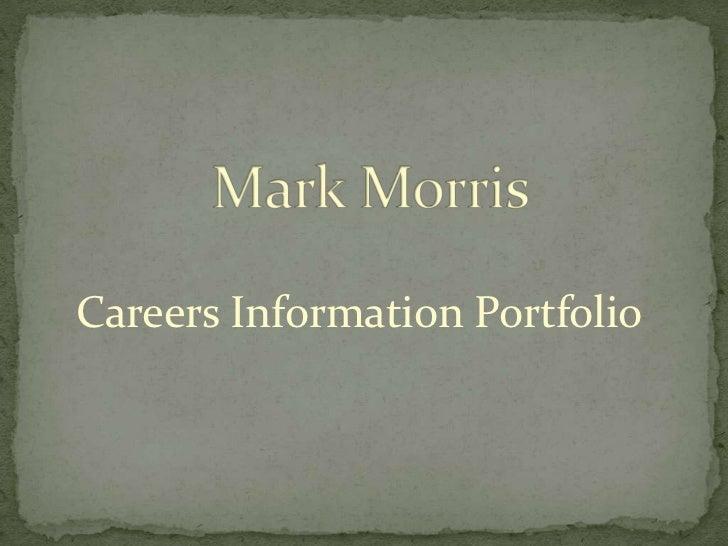 Careers Information Portfolio