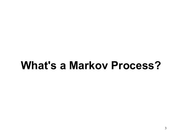 markov s analysis A famous markov chain is the so-called drunkard's walk, a random walk on the number line where, at each step, the position may change by +1 or −1 with equal .