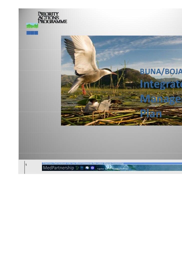 BUNA/BOJANA    Integrated    Management    Plan    Plan1