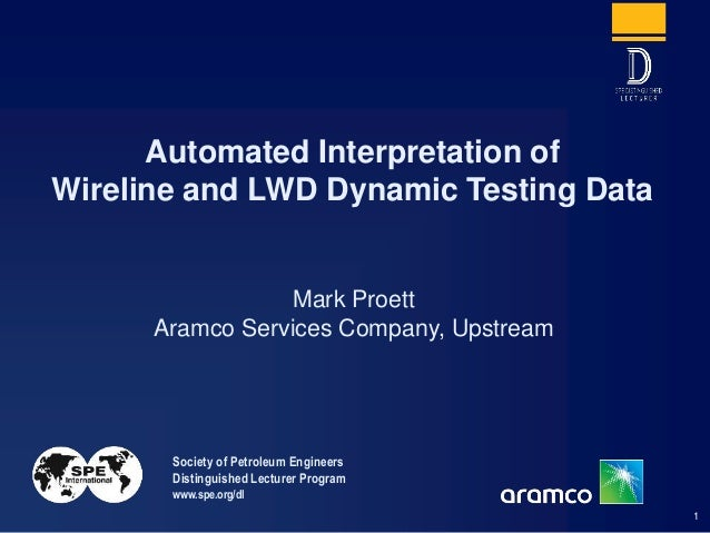 Automated Interpretation of Wireline and LWD Formation