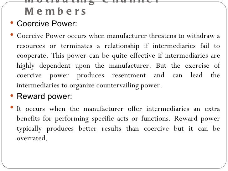 coercive power essay Coercive power is most effective when it is  this power often takes time to develop and may not be an effective means of power in organizations with numerous short.