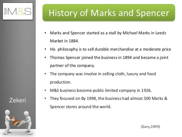 marks and spencer essay example