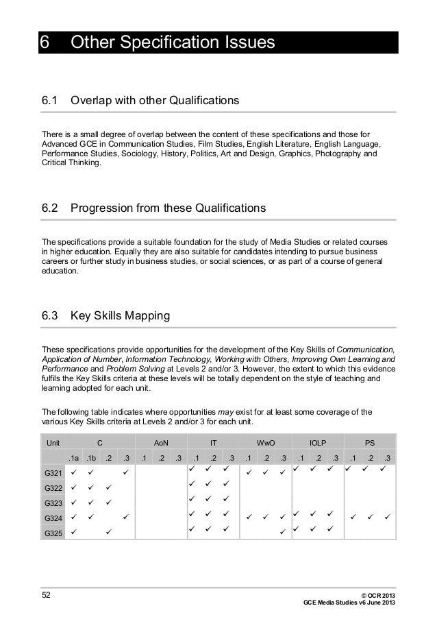 ocr critical thinking june 2013 mark scheme