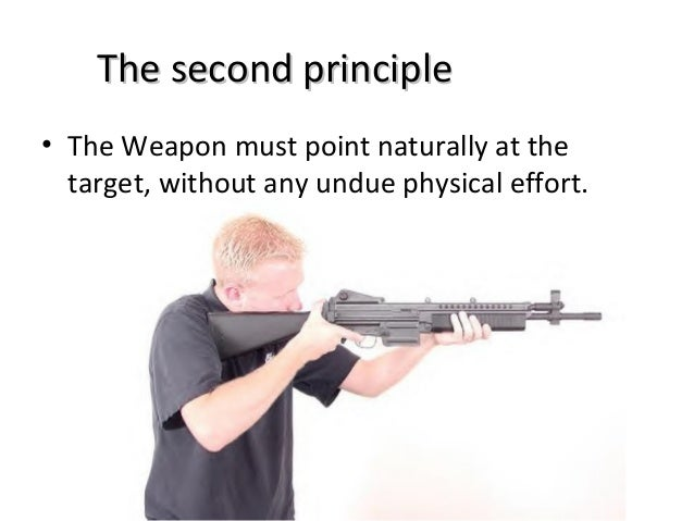 The Marksmanship Principles