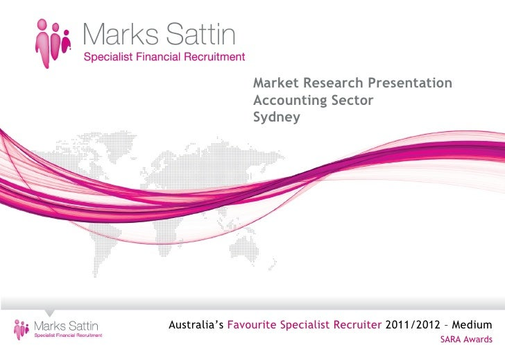 Marks Sattin                              Market Research Presentation                              Accounting Sector     ...