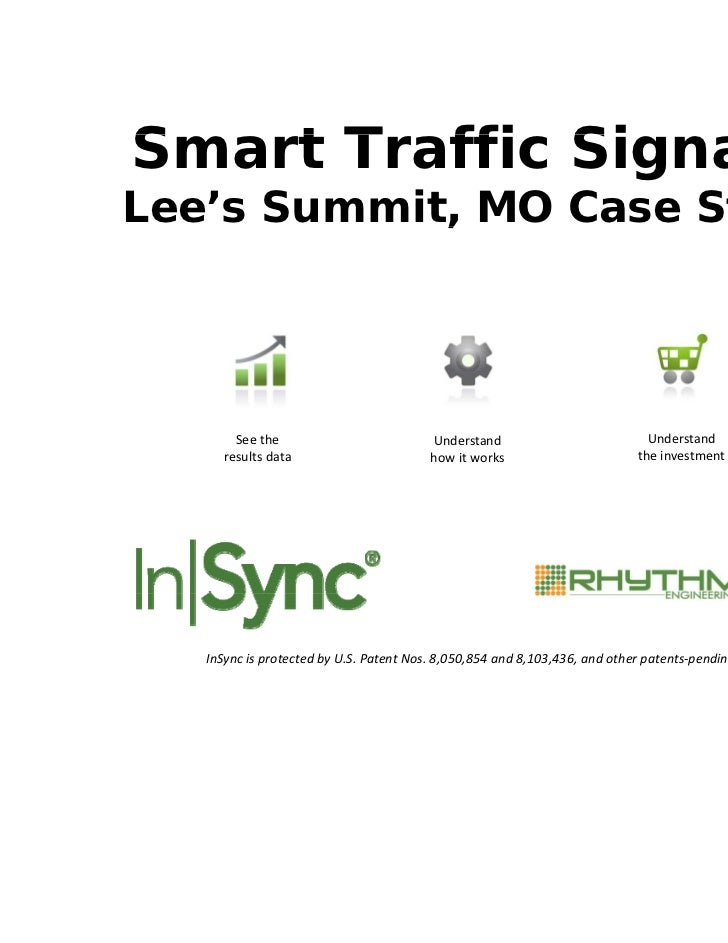 Smart T ffi SiS   t Traffic Signals:                   lLee's Summit, MO Case Study            ,             y        See ...