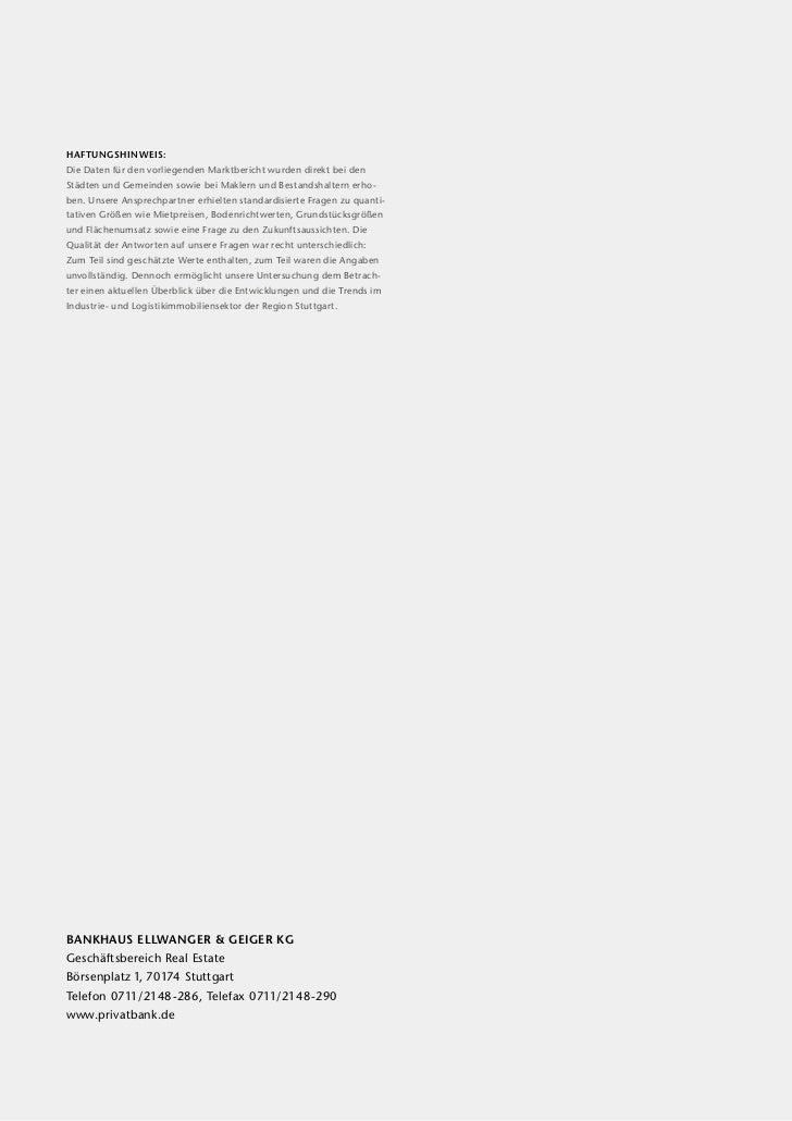 Haftungshinweis:Die Daten für den vorliegenden Marktbericht  urden direkt bei den                                        ...