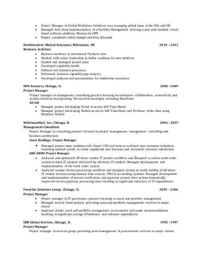Best Investment Management Resume Chicago Photos   Best Resume .