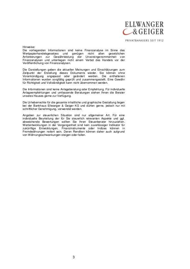 3  Hinweise:  Die vorliegenden Informationen sind keine Finanzanalyse im Sinne des Wertpapierhandelsgesetzes und genügen n...