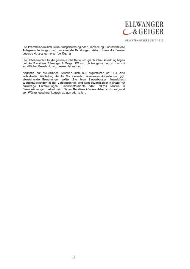 Die Informationen sind keine Anlageberatung oder Empfehlung. Für individuelle  Anlageempfehlungen und umfassende Beratunge...
