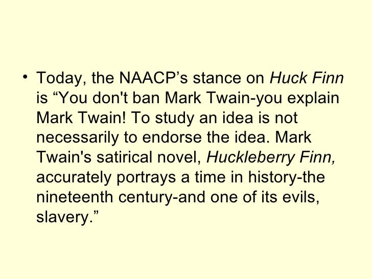 racist elements in mark twains adventures of huckleberry finn Excerpt i from the adventures of huckleberry finn the adventures of huckleberry finn, written by mark twain,  find examples of the following literary elements and.