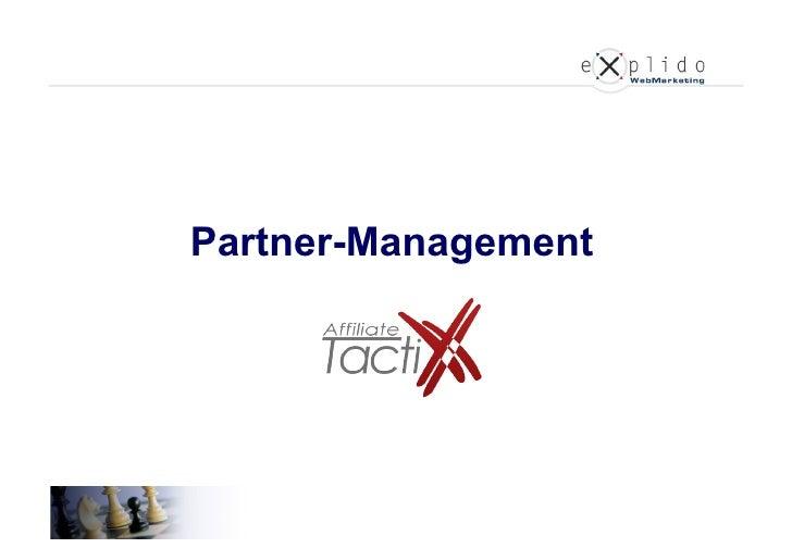 Partner-Management