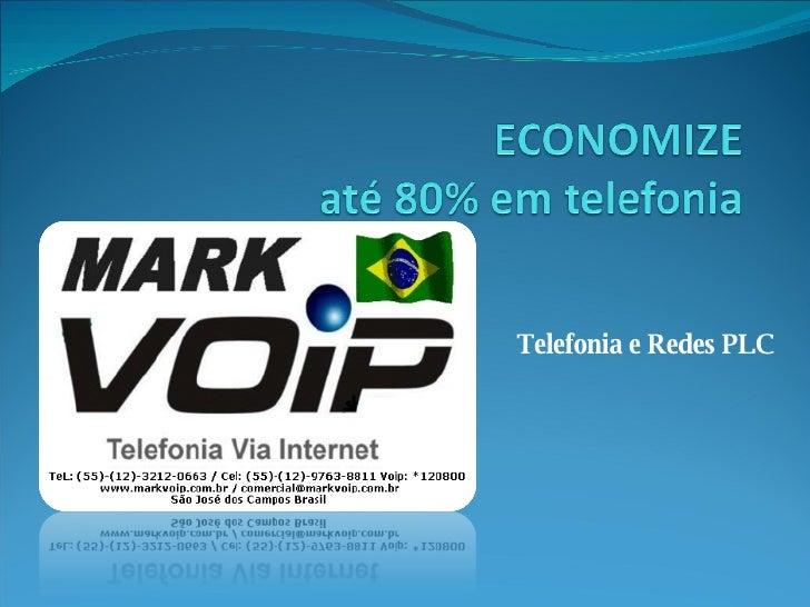 Telefonia e Redes PLC