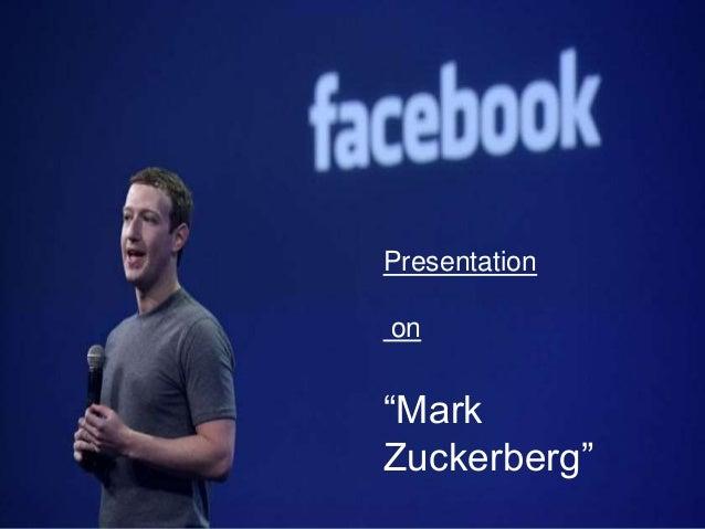 mark zuckerberg introduction