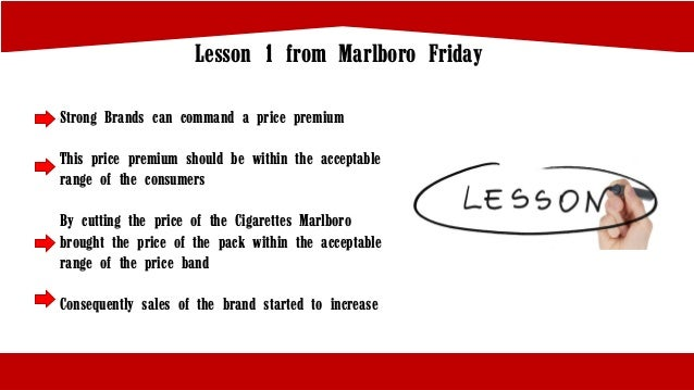 philip morris marlboro friday a essay The independent online until 'marlboro friday' philip morris and other big cigarette manufacturers were treating their brands as cash cows.