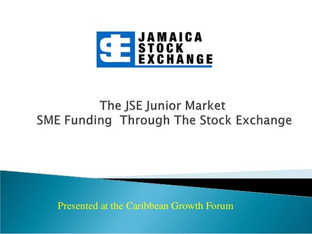 Presented at the Caribbean Growth Forum
