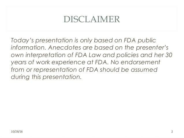 Marlene Garcia Swider ASQ, PDA, SoCalBio Presentation Oct. 6 Slide 2