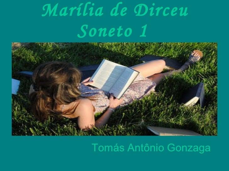 Marília de Dirceu Soneto 1   Tomás Antônio Gonzaga